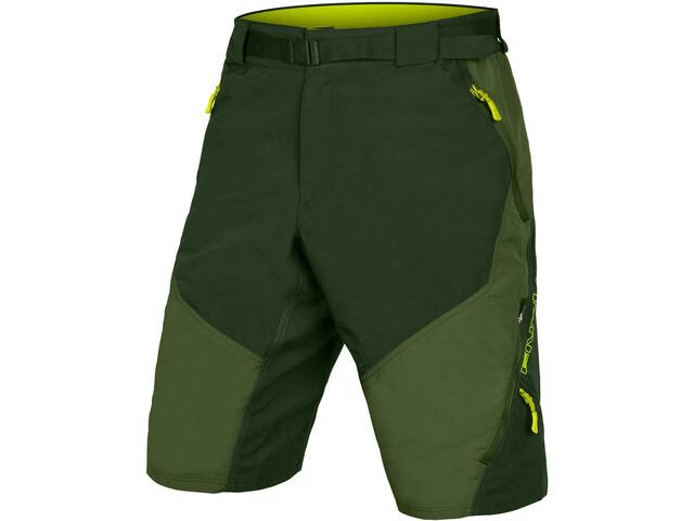 Endura Hummvee II Shorts with Liner Men, Oliva